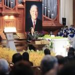 「民主化の父」李登輝元総統に最後のお別れ