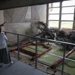 90人の命守った旧中浜小校舎、地元住民に公開
