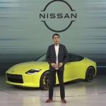 日産が新型「フェアレディZ」の試作車を公開