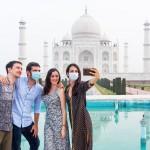 アグラの世界遺産「タージマハル廟」が再開