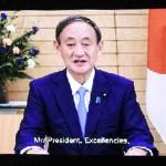 菅首相が国連総会で初演説、五輪来夏開催へ決意