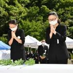 御嶽山噴火6年で追悼式、犠牲者の冥福祈る