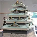 宮内庁、江戸城天守の復元模型を報道陣に公開