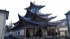 北京のキリスト教会(バチカンニュース10月22日から)