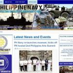 フィリピン海軍のホームページ
