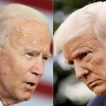 米大統領選を争う現職のトランプ大統領(右)と民主党候補のバイデン前副大統領(AFP時事)