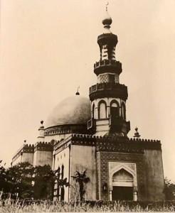 1938年に建設された「東京ジャーミイ」の前身「東京回教礼拝所」(東京ジャーミイ提供)