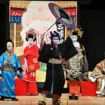 石川県小松市の「八町こども歌舞伎」が上演