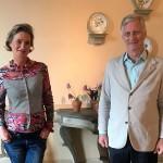 ベルギー「王女」、兄のフィリップ国王と面会