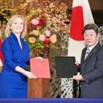 茂木外相とトラス英国際貿易相がEPAに署名