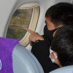修学旅行に遊覧飛行、地元上空の景色を楽しむ