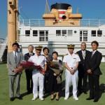 18年ぶり、観光スポット「氷川丸」の船長が交代