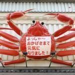大阪・道頓堀の名物、動く「カニ看板」が復活