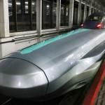 JR東、次世代新幹線「ALFA-X」初試乗会