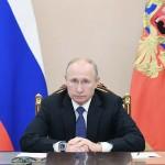 ロシアのプーチン大統領=6日、モスクワ(AFP時事)