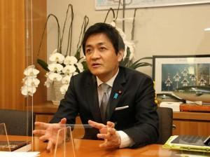 国民民主党代表 玉木雄一郎氏