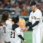 巨人の岩隈久志投手「最高の野球人生だった」