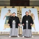大相撲11月場所がきょう初日、3大関に期待