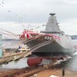 「くまの」と命名、省人化の新型護衛艦が進水