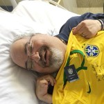 サンパウロのパウロ・マシャドさん、力尽きる
