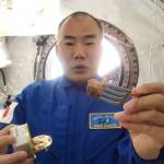 ISSの野口聡一さん「サバ缶、大変おいしい」