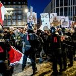 ドイツのライプツィヒ市のコロナ規制反対デモ(2020年11月7日、IPI公式サイトから)