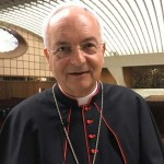 「スマートフォンで罪を告白しても罪は許されません」と語るピアチェンツァ枢機卿(バチカンニュースHPから)