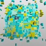 10キューブの選択から出現のイメージと、これまた有名なクリエイターのブース