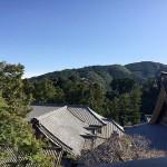 高台にある舎利殿から見た方広寺2