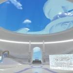 01SkyCube-Leftは晴れ渡る空の様なエントランス