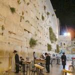 ヘロデ王時代の神殿の壁「嘆きの壁」(ウィキペディアより)