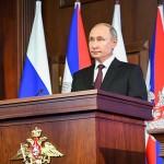 退職後の身の安全を模索するロシアのプーチン大統領(2020年12月21日、クレムリン公式サイトから)