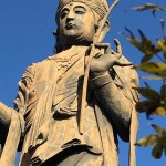 安倍晋三前首相似の聖観音菩薩像は舘山寺にある