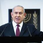 イスラエルのネタニヤフ首相=22日、エルサレム(EPA時事)