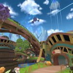 01メテコレプカは開けた空の小さな村であり、大勢のモクリ達が生活している