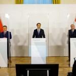 クルツ首相(中央)、ロックダウン期限の延期発表(2021年1月17日、オーストリア連邦政府公式サイトから)