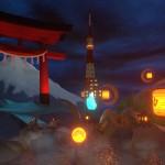 41夜の日本の名物とサイバーな街並み、そして大怪獣ゴジラが進撃する