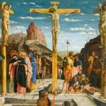 「磔刑図」アンドレア。マンテーニャ画1459年(ウィキぺディアから)