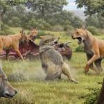 北米の絶滅種「ダイアウルフ」はオオカミと遠縁