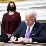 バイデン米大統領、新型コロナ対策で大統領令