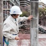 広島市が「原爆ドーム」の保存工事現場を公開