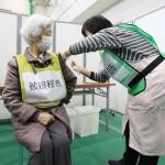 ワクチン接種の模擬訓練、円滑な進行を目指す
