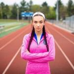 トランスジェンダーの女子陸上大会参加で公平な競争が失われたとして訴訟を起こした米コネティカット州のセリーナ・ソウルさん(「自由防衛同盟」提供)