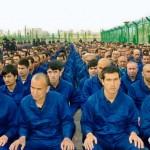 ボータン地区ロブ県内の強制収容所(日本ウイグル協会提供)