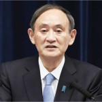 栃木県を除く10都府県で緊急事態宣言の延長を決め、記者会見する菅義偉首相=2日午後、首相官邸