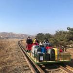北朝鮮からトロッコで越境「長くて困難な帰路」