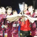 エース・早田ひなの意地、日本生命が3連覇