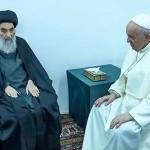 フランシスコ教皇とシスター二ーの会見(2021年3月6日、バチカンニュースから)