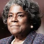 米国連大使への指名が承認されたリンダ・トーマスグリーンフィールド元国務次官補=1月27日、ワシントン(EPA時事)