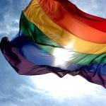 LGBTの社会運動のシンボル旗レインボーフラッグ(ウィキぺディアから)